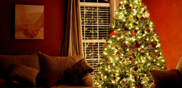 Cómo abrir el árbol de navidad
